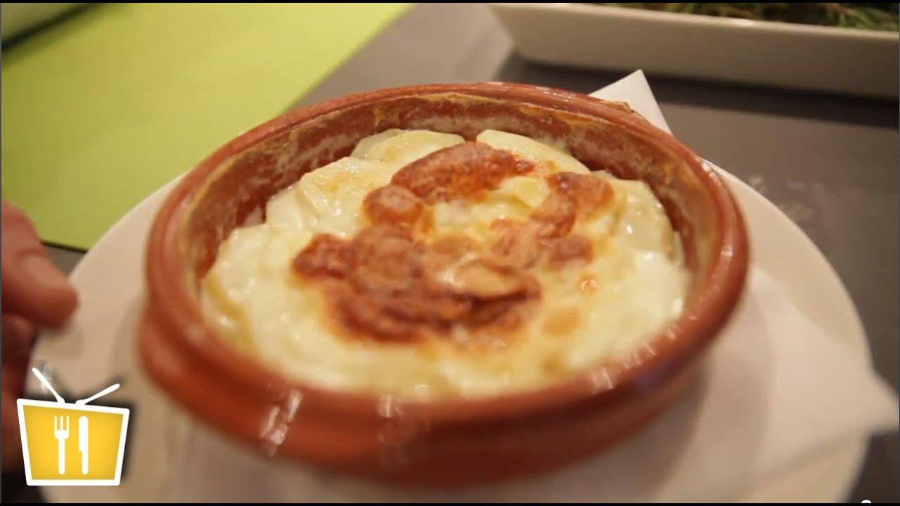 gratin dauphinois zubereiten / kartoffelgratin - französische