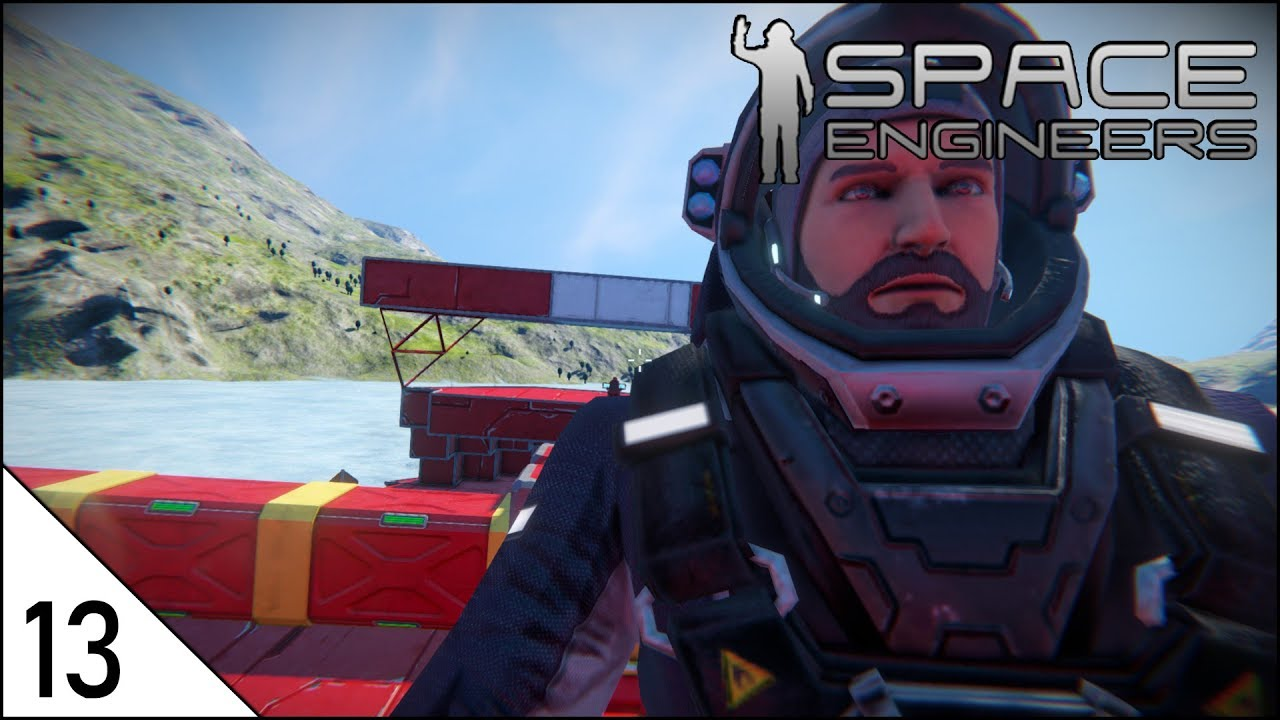 Download Space Engineers Let's Play (Ep 13) - PAINTING THE SHIP RED [Beta Gameplay]