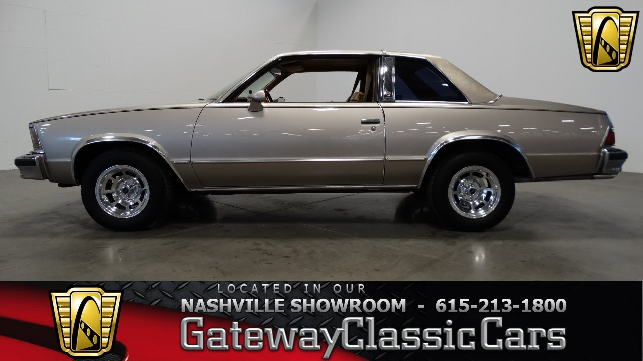 1978 Chevrolet Malibu-#220-Gateway Classic Cars, Nashville - YouTube