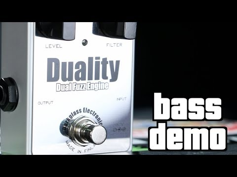 Darkglass Duality Fuzz Bass Demo
