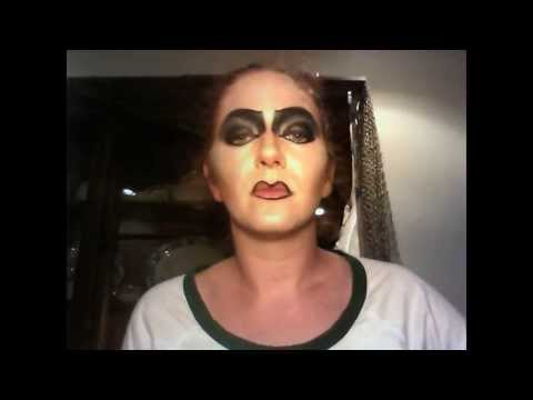 Make-up Tutorial Rocky Horror Picture show: Dr. Franknfurter