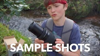 Canon 55-250mm f/4-5.6 IS STM lens Unboxing & Test
