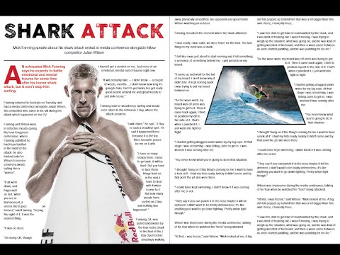 Make a Surf Magazine Article in Adobe InDesign - Part 1