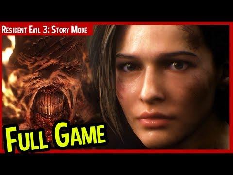 Resident Evil 3 REmake - Full Game Story Mode - Gameplay On PC LIVE 🔴