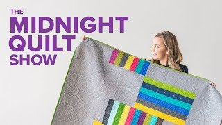 Negative Space FREE pattern!   The Midnight Quilt Show