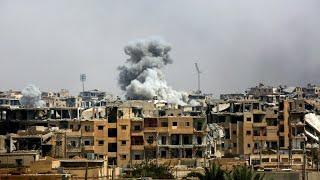 المرصد السوري: مقتل 3250 شخصا بينهم 1130 مدنيا خلال معارك مدينة الرقة