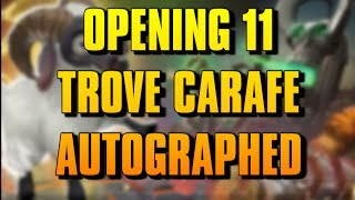 "DOTA 2 - OPENING 11 TROVE CARAFE ""AUTOGRAPHED"" TREASURES"