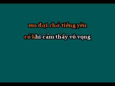 Chiec la co don - Thuy Tien [ beat Karaoke]