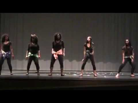 """African Dance"" 2012 Black History Program Lamar Cons. High school"