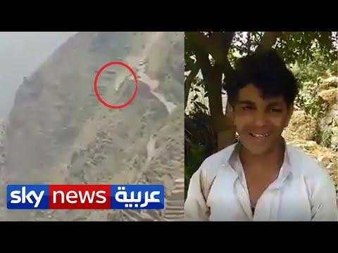 أغرب حادث سيارة.. سائق يمني ينجو بعد السقوط من ارتفاع شاهق | منصات