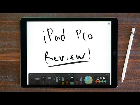 iPad Pro + Apple Pencil Review!