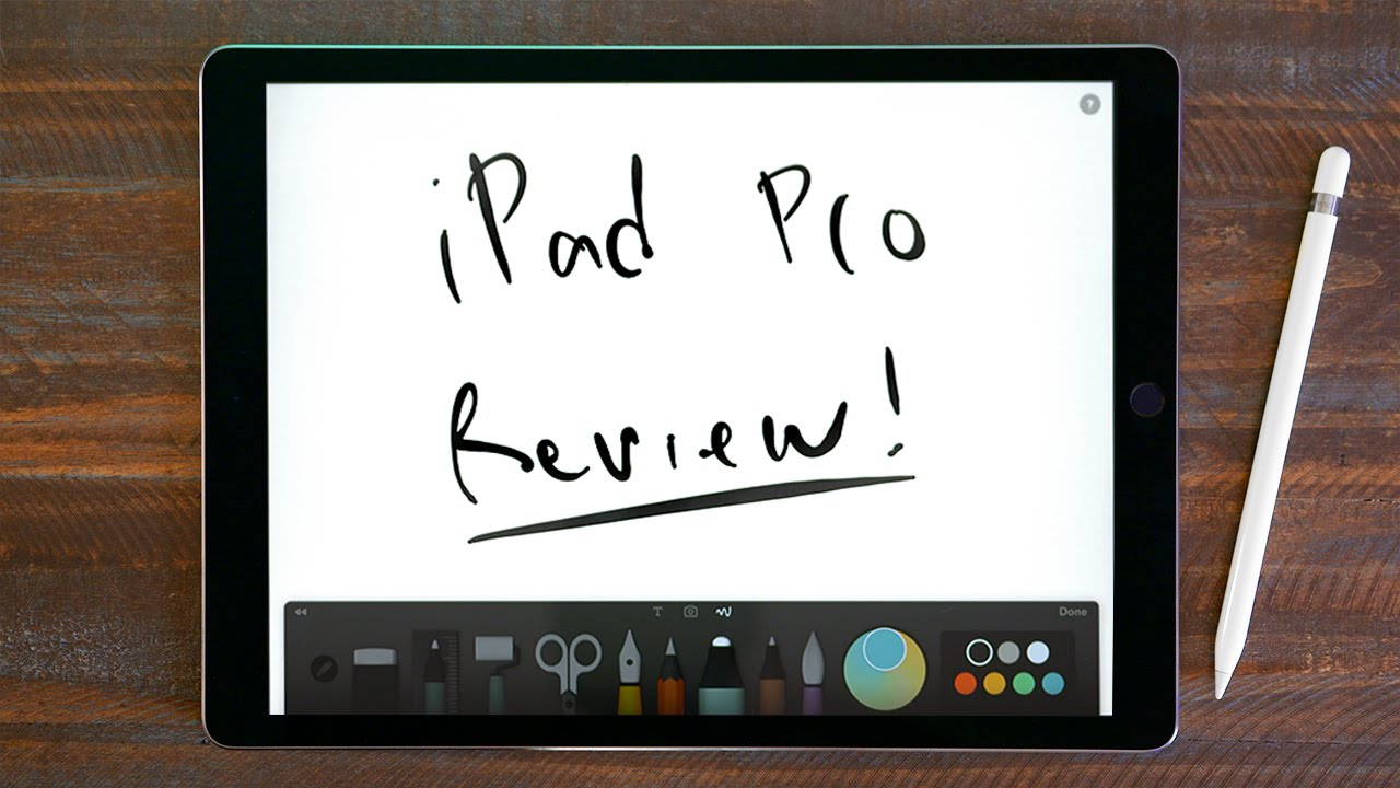 iPad Pro + Apple Pencil Review!