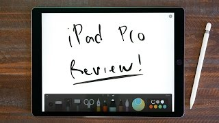 iPad Pro + Apple Pencil Review!(, 2015-11-27T18:46:05.000Z)