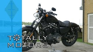Harley Davidson Iron 883 vs Street 750 Road Test - HD | Totally Motors