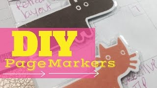 DIY Magnetic Page Markers