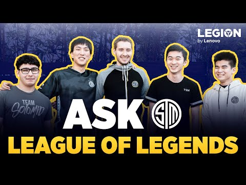 TSM LCS Team Answers Your Top Questions!   Ask TSM (Bjergsen, Doublelift, Broken Blade, Bio, Spica)