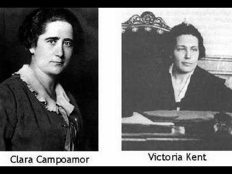 Pasajes de la historia, Clara Campoamor vs Victoria Kent 1931 1972
