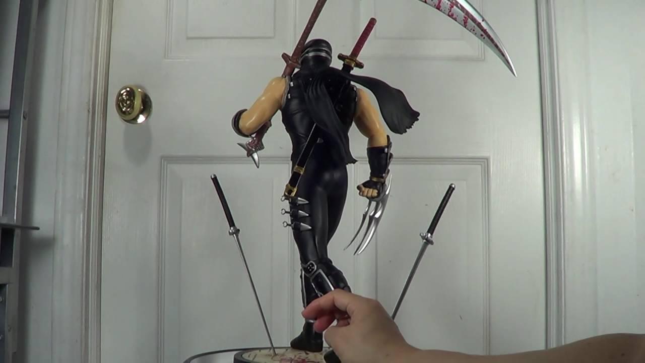 Ninja Gaiden Ryu Hayabusa 1 4 Scale Statue Review Youtube
