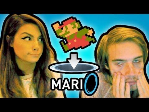 MARIO + PORTAL = RAGE (mari0)