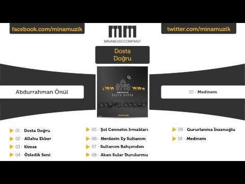 Abdurrahman Önül - Medinem (Official Lyric Video)