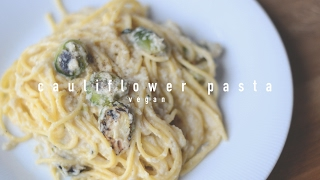Vegan Cauliflower 'Alfredo' Pasta | Sweet Potato Soul Collab