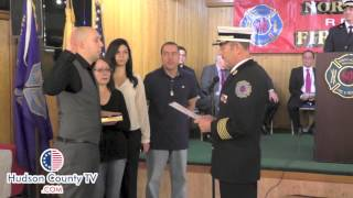 North Hudson Regional Fire hires ten military veterans as new firefighters