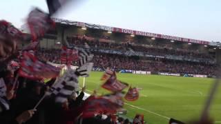 Le Roudourou en feu ! Guingamp Monaco - Entrée des joueurs Coupe de France
