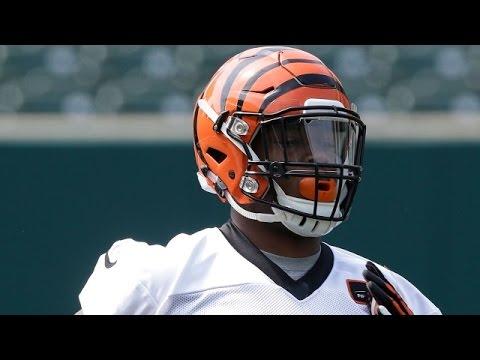 Cincinnati Bengals Jeremy Hill Talks Madden