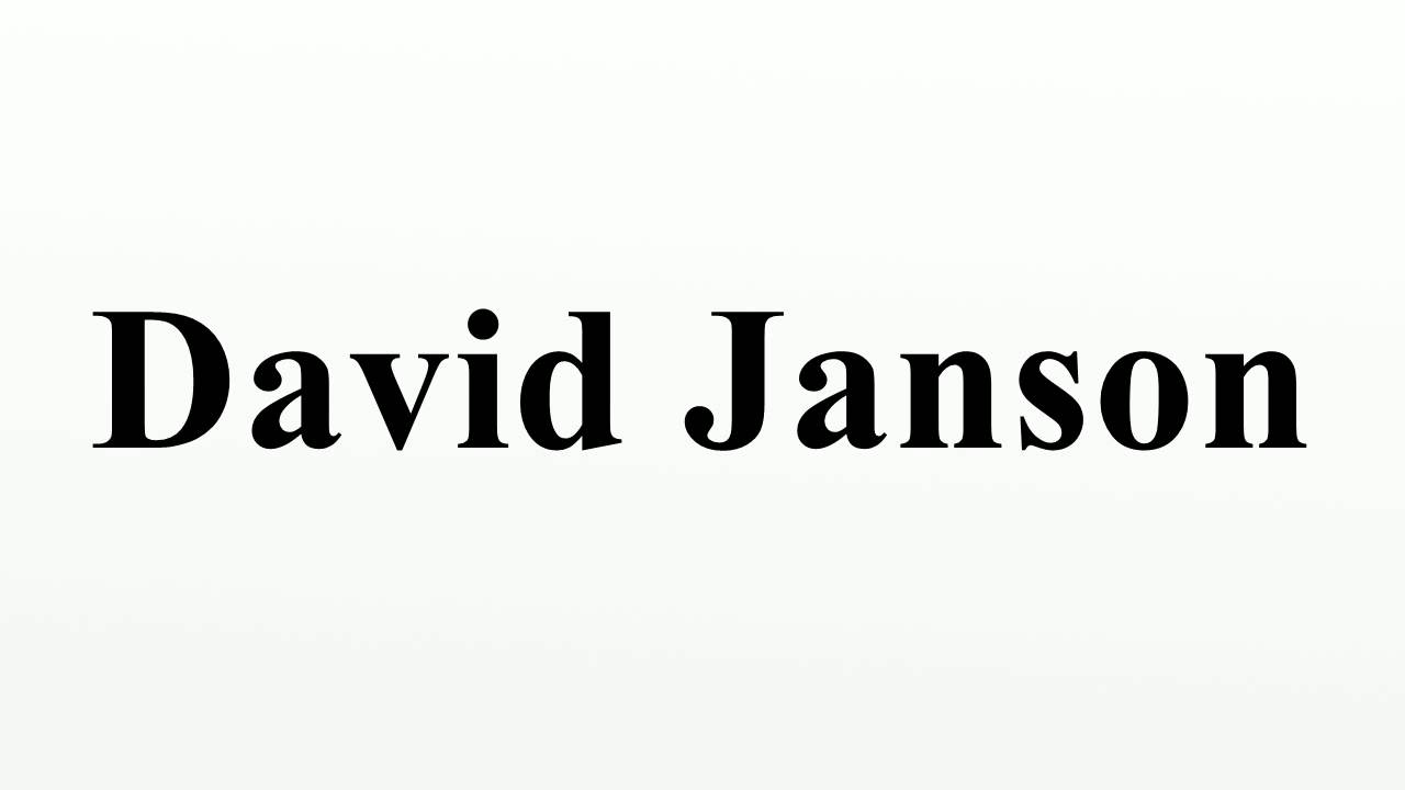 David Janson (born 1950) David Janson (born 1950) new pics