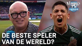 René van der Gijp over Edson Álvarez: 'Waarschijnlijk de beste speler ter wereld'