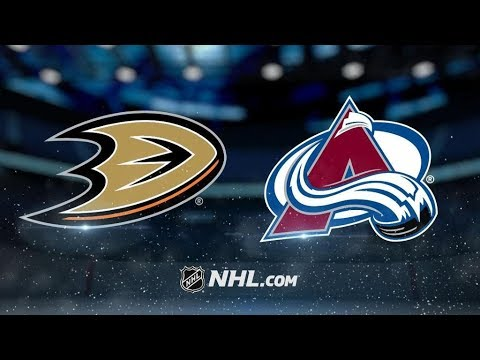 Anaheim Ducks Vs. Colorado Avalanche | NHL Game Recap | October 13, 2017 | HD