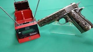 Wei-ETech M1911 Mehico Druglord Chrony - und Schusstest