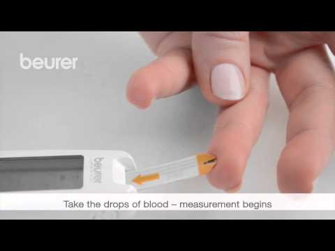 Quick start video for the GL 50 blood glucose monitor