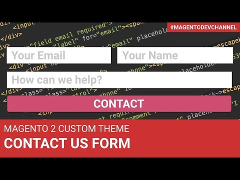 How to customize Contact Us Form | Magento 2 Theme Development