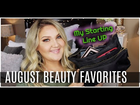 AUGUST BEAUTY FAVORITES   WHATS IN MY BEAUTY BAG?