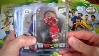 ALL 18 LIMITED EDITION CARDS ROAD TO 2014 FIFA WORLD CUP PANINI ADRENALYN XL, ERIKSEN, HENRIKSEN