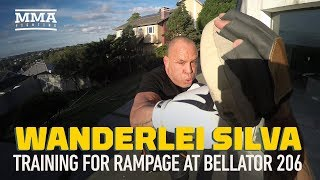 Wanderlei Silva Training for Bellator 206 Fight With 'Rampage' Jackson - MMA Fighting