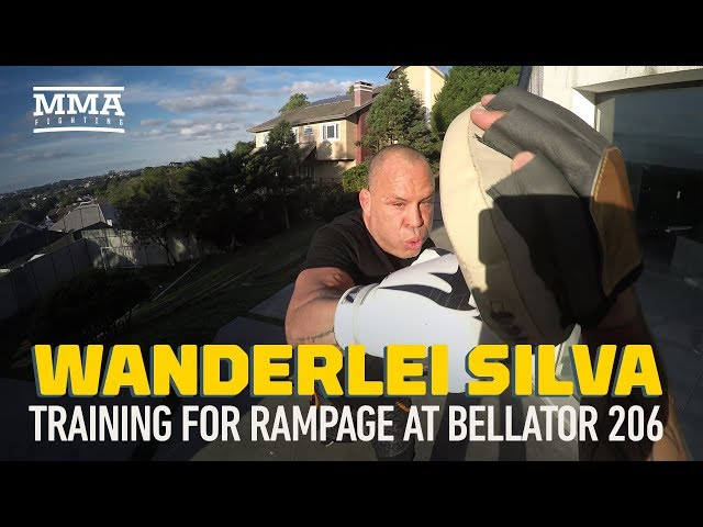Bellator 206 This Wanderlei Silva Sparring Video Will Have You
