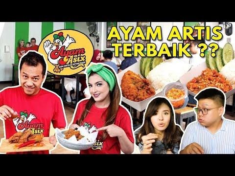 AYAM ASIX by ANANG & ASHANTY ADA MENU RP 5000 !! AYAM ARTIS KOK MURAH ?