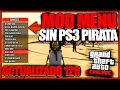MOD MENU GTA 5 SIN PS3 PIRATA TUTORIAL HACK GTA V ONLINE DINERO Y RP INFINITO NO JAILBREAK