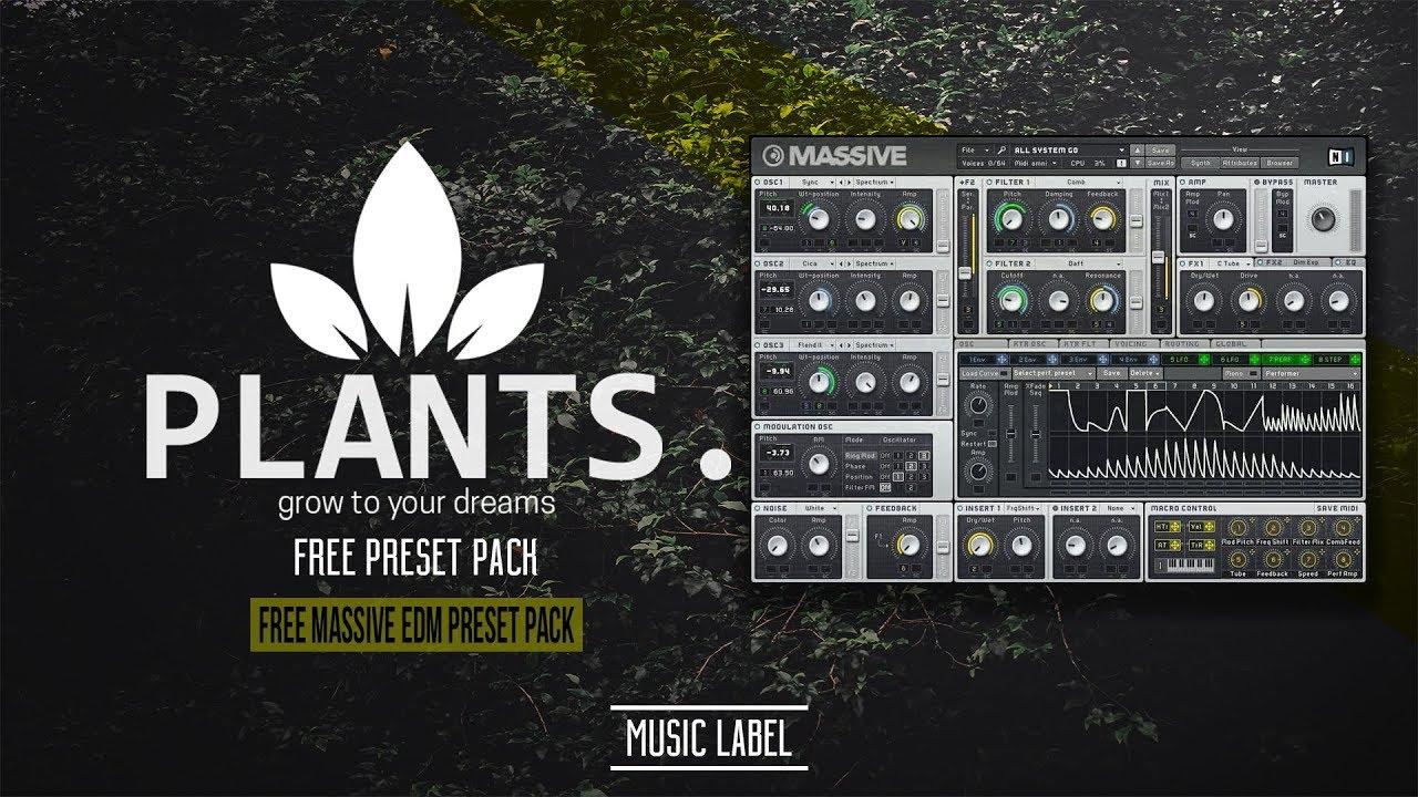 Free Massive EDM Preset Pack!!