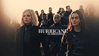 Clarke & Madi.   Hurricane