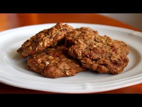 Рецепт: Овсянное печенье с  шоколадом и бананом Десерт Простой рецепт вкусного домашнего печенья