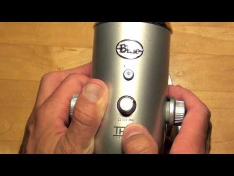 Blue's Yeti USB Microphone: Unboxing & Demo