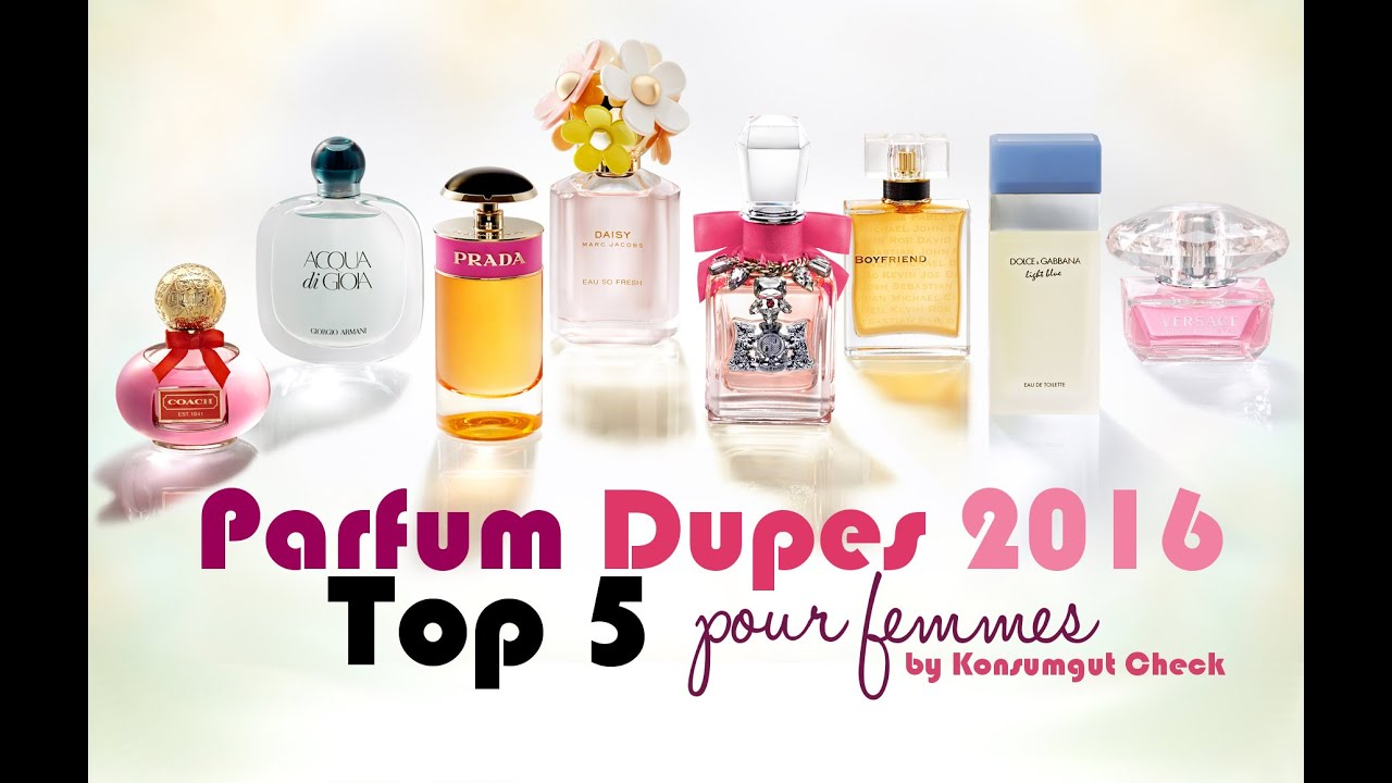 Best Female Perfume Dupes 2016 Top 5 Youtube
