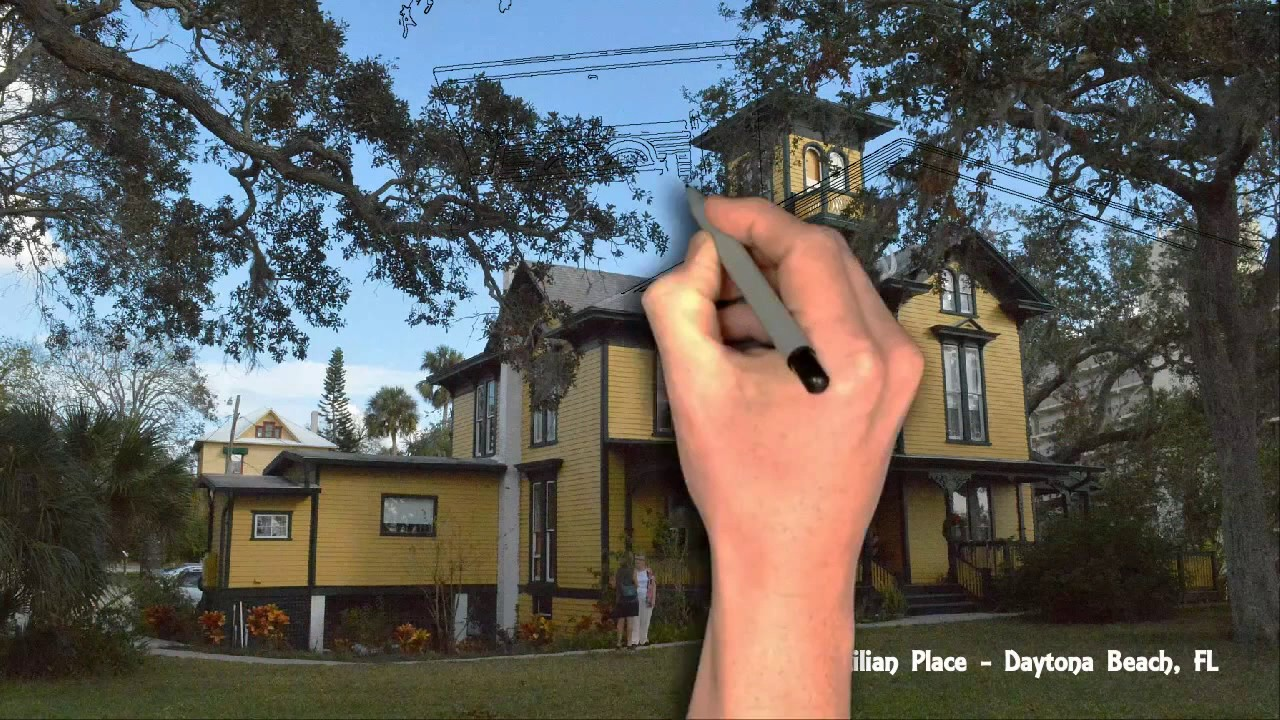 Lilian Place Historic Daytona Beach House 1884 Renovation Campaign 2017