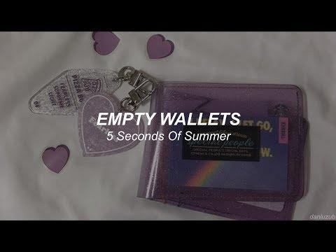 5 Seconds Of Summer // Empty Wallets ; Lyrics - Español ☆彡