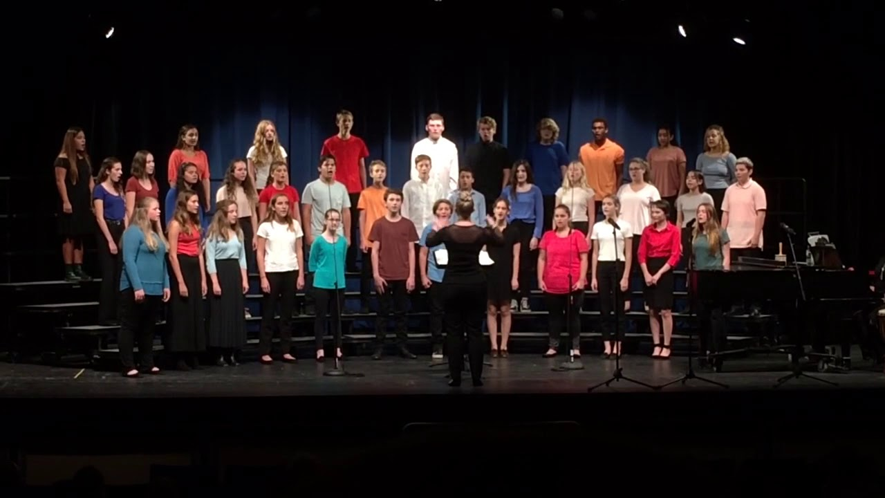 Mhs Chorale Fall 2017 Flower Of Beauty John Clements 1910 1986