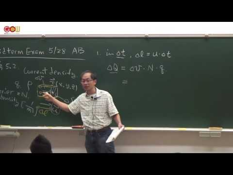 5.2 Current Density and Ohm's Law & 5.4 Continuity Equation