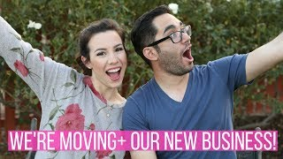 WE'RE MOVING ACROSS COUNTRY + OUR NEW BUSINESS! | Hayley Paige